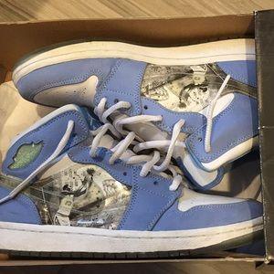 Nike air Jordan hologram